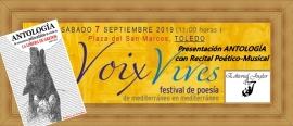 VOIX VIVES 19 Cabecera Cartel
